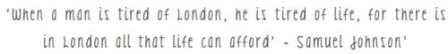 London quote